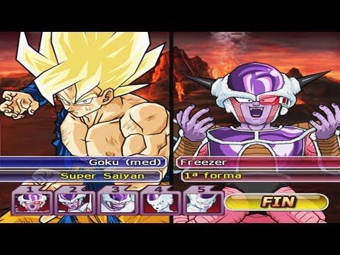 (Very Hard) 1X5 - Goku Super Saiyajin VS Frieza All Form´s | Dragon Ball Z Budokai Tenkaichi 3