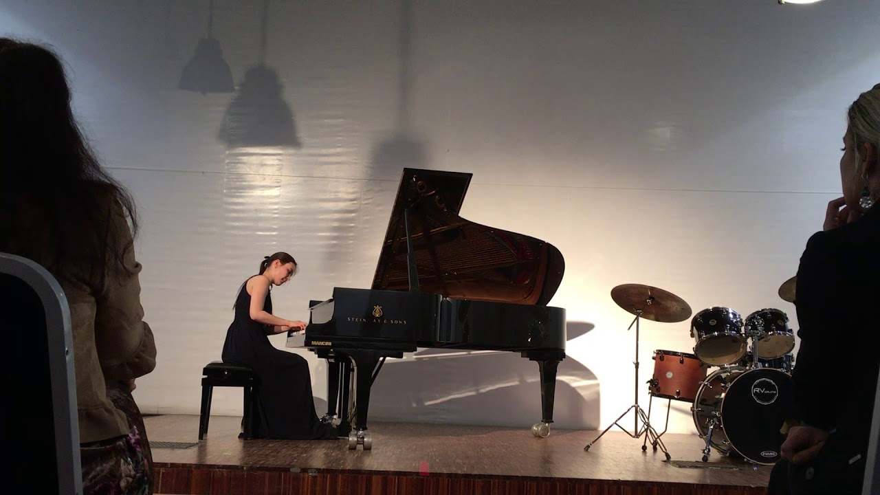 Mozart Adagio KV 540  b minor Alica Müller 光山ピアノ