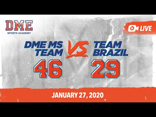 DME MS vs Team Brazil