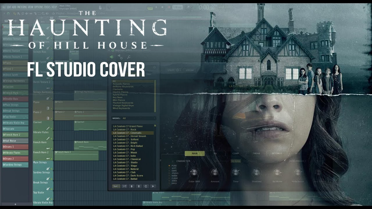 The Haunting Of Hill House Opening Theme Fl Studio Cover Youtube