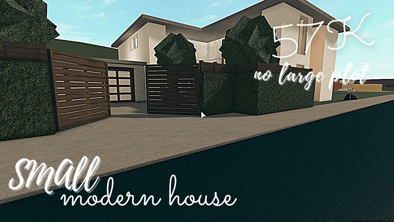 Download Bloxburg: Simple Modern House (57k)