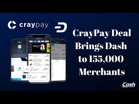 CrayPay Deal Brings Dash to 155,000 US Merchants