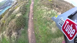 Blakes Ride Along The Coast In Cornwall - Extreme GoPro HD