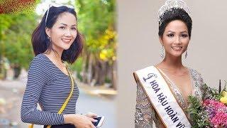 """Lộ ảnh hoa hậu H'Hen Niê trước khi cắt tóc ngắn, ai cũng """"ngất ngây"""" vì vẻ quyến rũ khó cưỡng"""