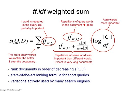 IR3 10 tf-idf weighted sum