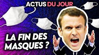 Date de fin des masques, cr🅰️ck à Paris, un Français en otage... Actus du jour