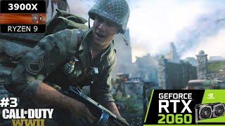 Call of Duty WWII | Stronghold Walkthrough | AMD Ryzen 9 3900X + MSI GeForce RTX 2060 GAMING Z
