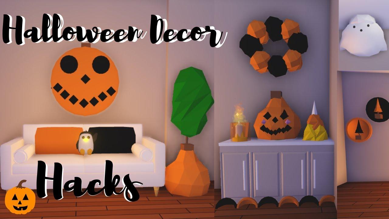 Halloween Decor Hacks Roblox Adopt Me Youtube