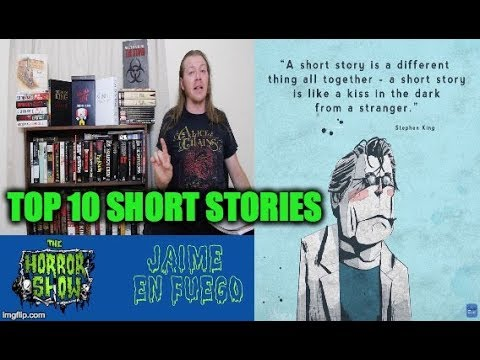 Stephen King: Top 10 Short Stories - Hail To Stephen King EP27