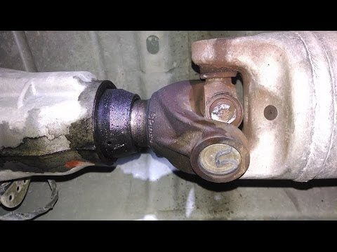 Tacoma Rear Differential Diagram Chevy Avalanch U Joint Fail Youtube