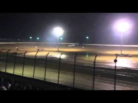 Clay county speedway  heat race 8/9/14