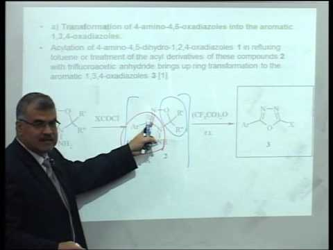 synthesis of heterocyclic compounds pdf