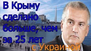В Крыму за 4 года сделано больше чем за 25 лет с Украиной