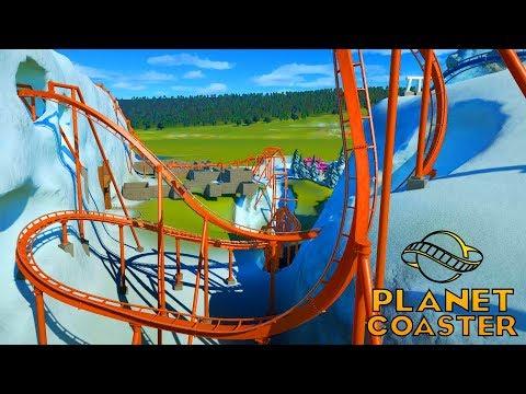 Unsere erste Übertreiberling Achterbahn! - Planet Coaster #08 | Zander