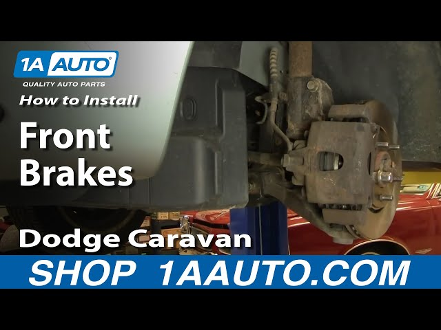 How To Install Replace Front Disc Brakes Dodge Caravan Chrysler Town and Country 1AAuto.com Travel Video