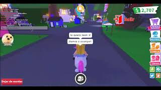 My first video - knowing me-adopt me - roblox