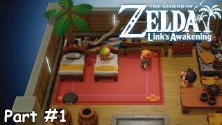 Slim Plays The Legend of Zelda: Link's Awakening (NS) - #1. Welcome Back to Koholint!