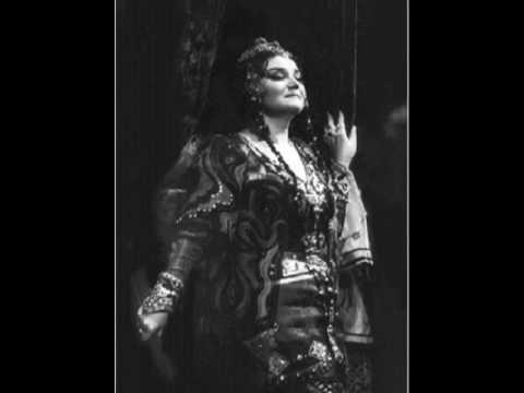 """Tamara Sinyavskaya sings Konchakovna  from Borodin's """"Prince Igor"""""""
