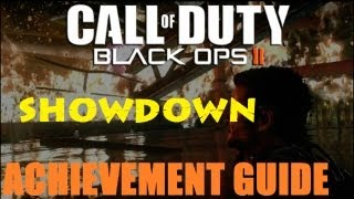 Black Ops 2 Showdown Achievement / Trophy Guide