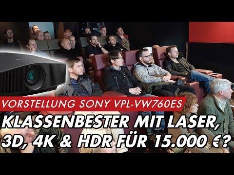 SONY VPL VW760ES - Klassenbester mit Laser, 3D, 4K & HDR für 15.000 EURO?  | GROBI.TV