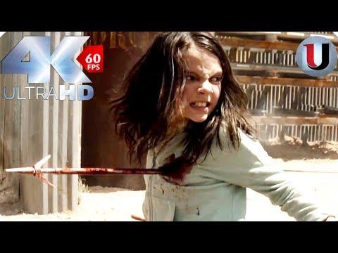 Logan 2017 - Laura vs Reavers - MOVIE CLIP (4K HD)