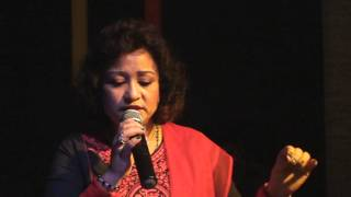 Sumi Lama Singing  Harshdeep Kaur HEER From Jab tak Hain Jaan 2014, Dubai.