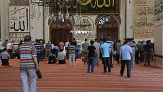 muslim islamic call to prayer in turkey