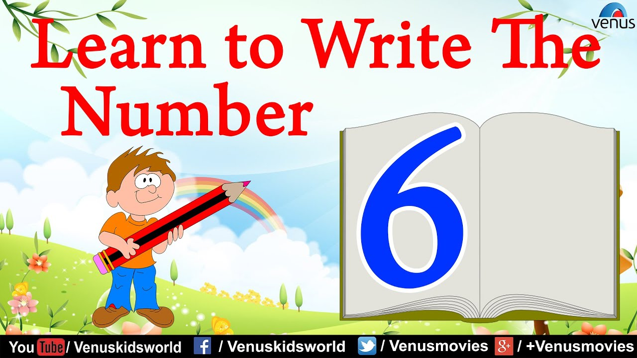 Learn To Write The Number 13