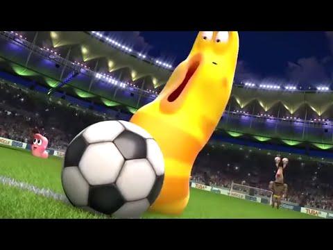 LARVA - THE LARVA WORLD CUP SONG | Videos For Kids | LARVA Cartoon 2018 | WildBrain Cartoons