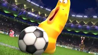 LARVA - THE LARVA WORLD CUP SONG   Videos For Kids   LARVA Cartoon 2018   WildBrain Cartoons