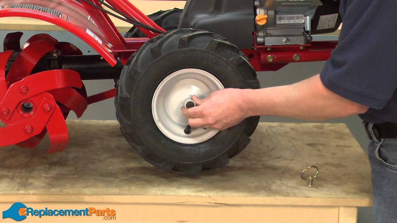 How To Replace The Tire And Wheel Assembly On A Troy Bilt