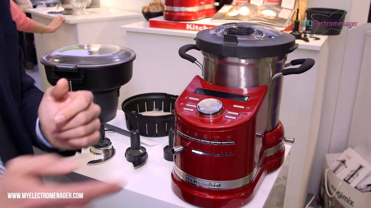 Kitchen aid cook processor youtube - Robot multifonction cuiseur kitchenaid ...