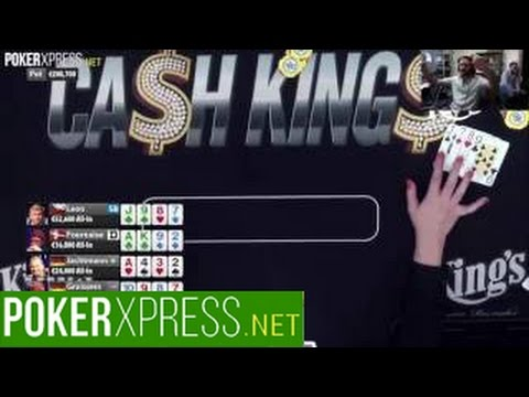 Tony G in a €200k 5-way all-in crazy PL Omaha poker hand