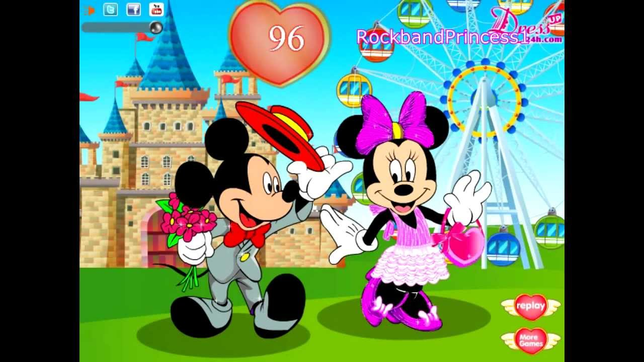Mickey Mouse Games For Kids Mickey Mouse Dress Up Game