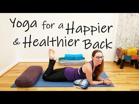 Yoga for a Happier, Healthier Back
