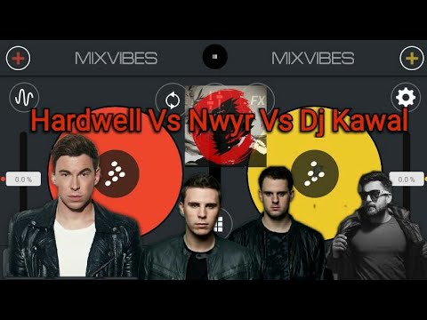 Hardwell vs Nwyr vs Dj kawal (Volteg vs Don't stop the madness vs Nadaan Parinde)-Mashup