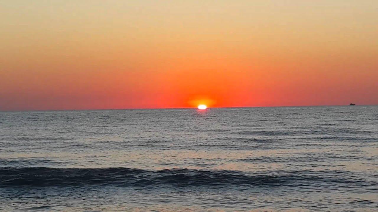 Perendimi i Diellit ne Durrës, pamje fantastike. - YouTube   title   perendimi i diellit
