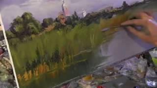 Курсы живописи, рисунка в Москве , художник Игорь Сахаров , онлайн обучение 1