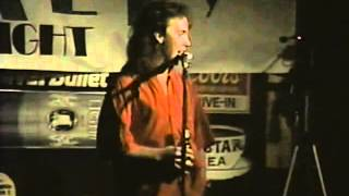 Doug Stanhope at Carlos Murphy's in Las Vegas, 1990