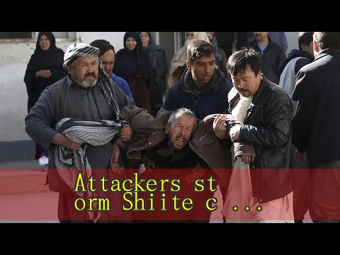 Attackers storm Shiite cultural center in Kabul; 35 killed