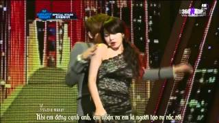 Repeat youtube video [Vietsub] Trouble Maker - Trouble Maker @ 120107 MCountDown {4M Team}[360kpop][HPBD Hyunah]