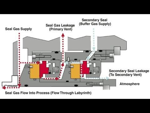How Compressor Gas Seal System Works?