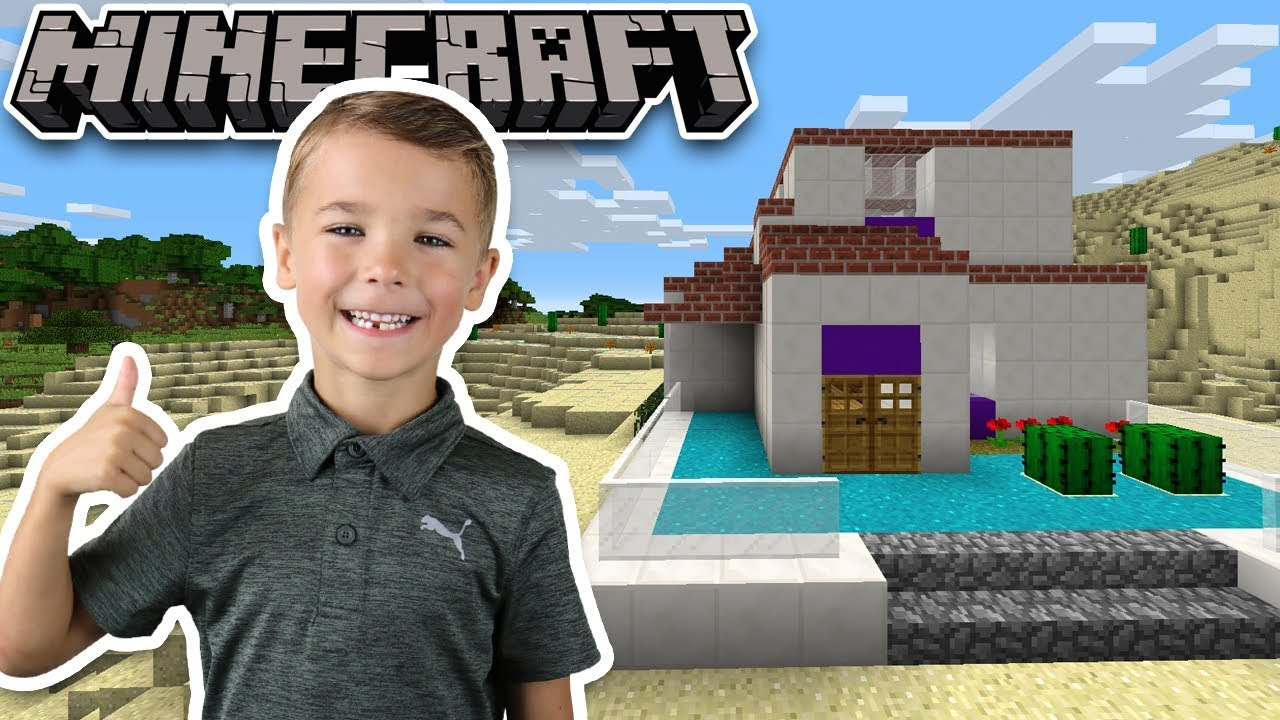 Building The Best House We Have Ever Built In Minecraft Survival Mode