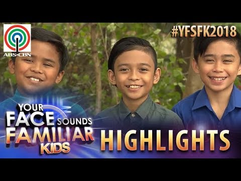 YFSF Kids 2018 Highlights: TNT Boys As Bee Gees   Week 1 Mentoring Session