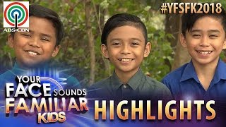 YFSF Kids 2018 Highlights: TNT Boys as Bee Gees | Week 1 Mentoring Session