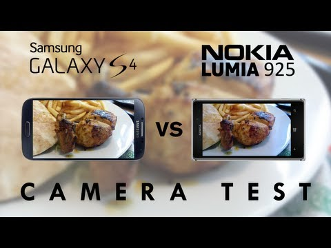 Galaxy S4 vs Lumia 925 - Camera Test Comparison