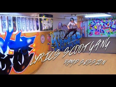 Lyrics Scoot Gang Ramp Session [LYRICS SKATESHOP VICTORIA BC]