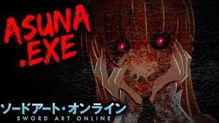 asunaexe sword art online horror game vloggest