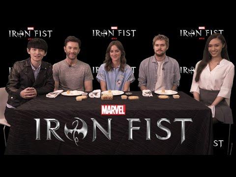 Hay & Meghan 與 MARVEL《Iron Fist 鐵拳俠》主角玩遊戲 !
