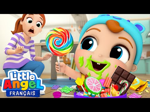 Je Veux Encore Plus De Bonbons! - Comptines Pour Bébé | Little Angel Français